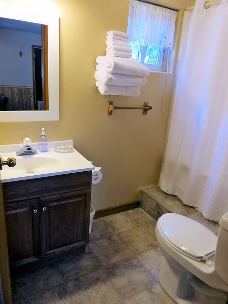 Hunter Cabin family bathroom